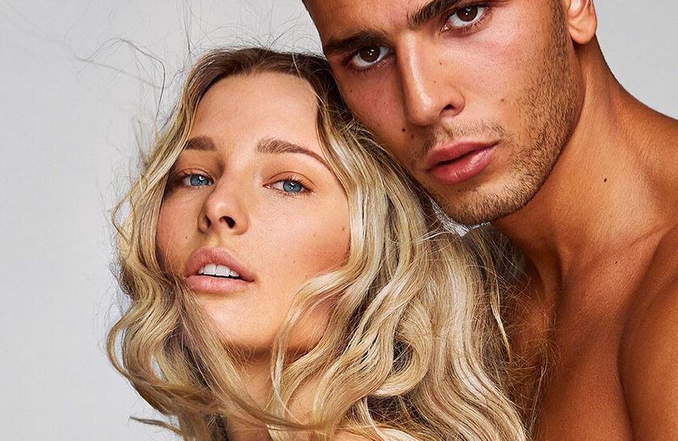 Ilona Smet pose topless pour la dernière campagne Balmain (Photos)