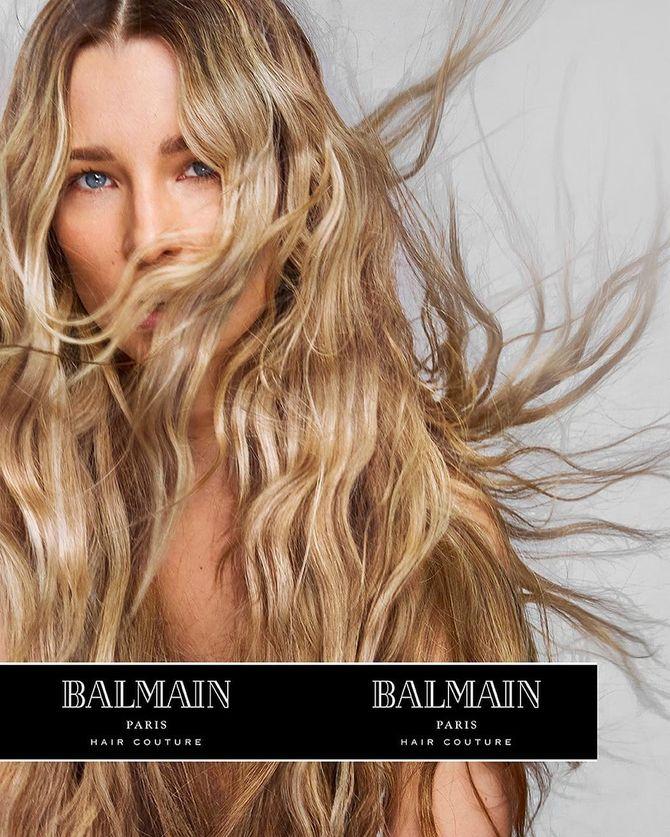 Ilona Smet, pose topless pour la dernière campagne Balmain (Photos)