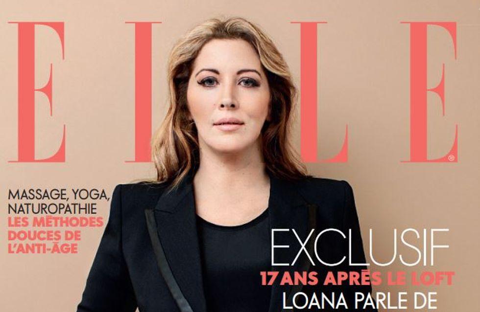 Loana, rayonnante et métamorphosée en couverture du magazine Elle (Photos)