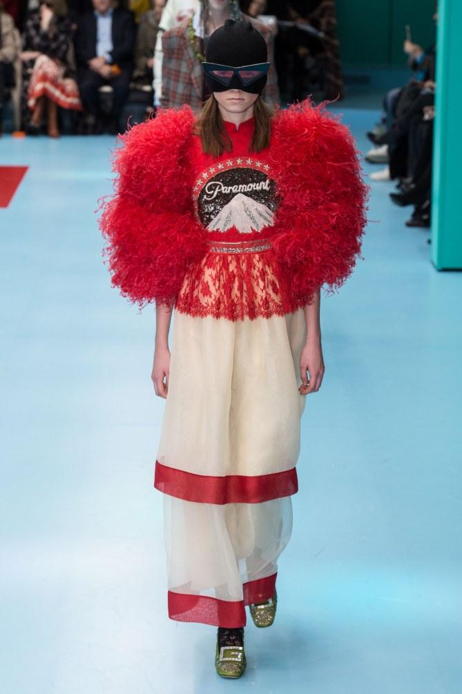 Gucci Otoño-Invierno 2018 Milan Fashion Week