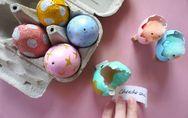 Des oeufs à message pour Pâques