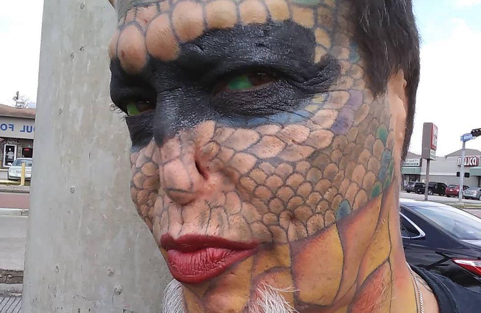 """Elle dépense 60.000 dollars pour devenir un """"dragon"""" (Photos)"""