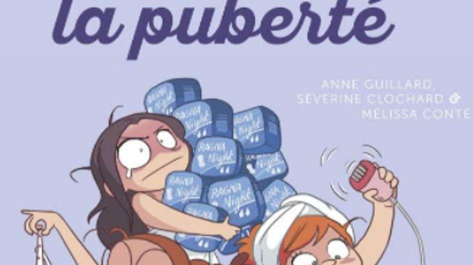 Ce livre sur la puberté pour les pré-adolescentes accusé de faire l'apologie du viol (Photos)