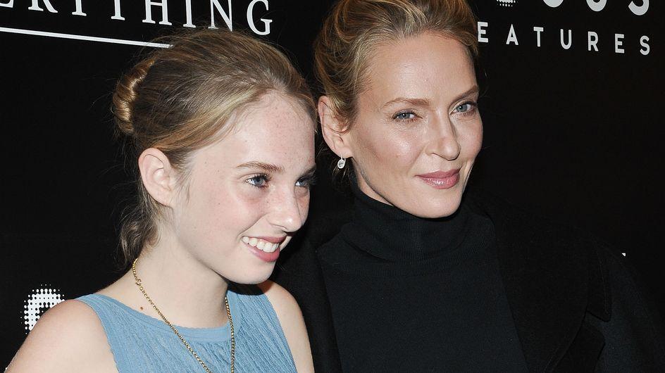 La fille d'Uma Thurman au casting de Stranger Things ? On dit OUI !