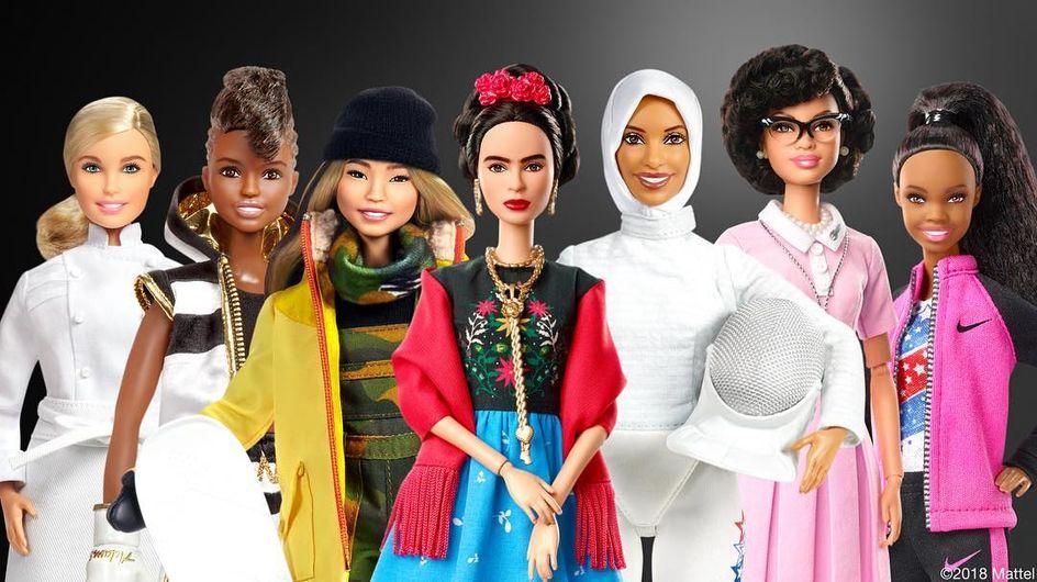 De nouvelles Barbie® célèbrent des icônes féministes et inspirantes
