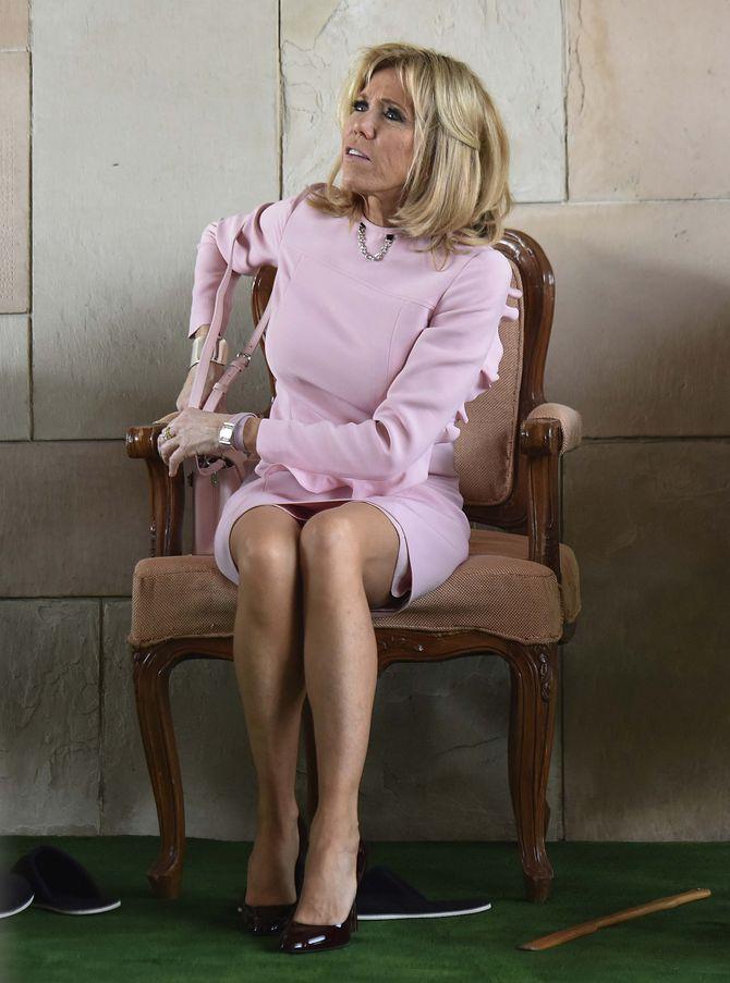 Brigitte Macron en Inde