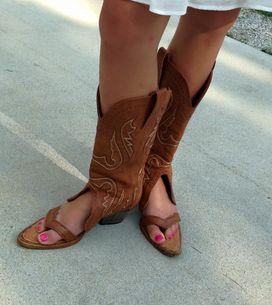 Euh... il existe VRAIMENT des sandales-santiags (Photos)
