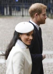 Meghan Markle et le prince Harry le 12 mars 2018