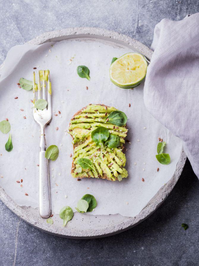 Sur des tartines, même le matin, on adore le guacamole !