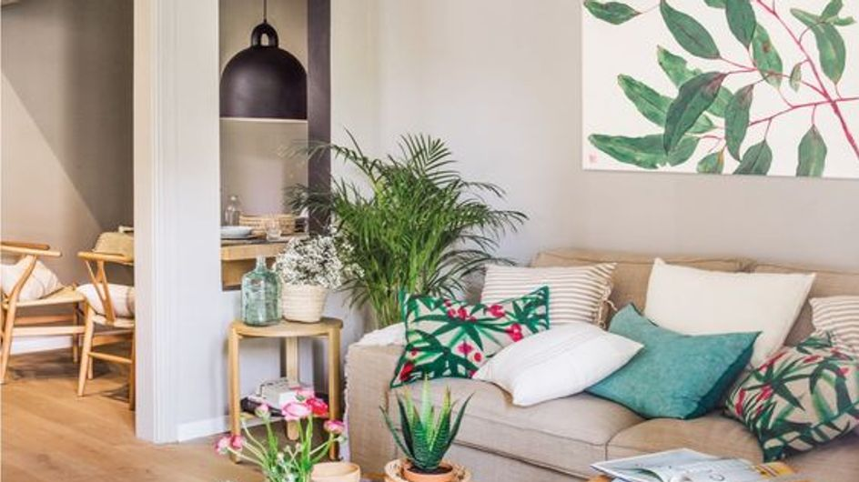 7 trucos para renovar tu salón por poco dinero
