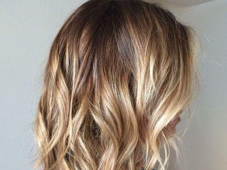 Foto tagli capelli medi biondi