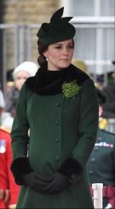 Kate Middleton fait sensation en total look vert pour la Saint-Patrick