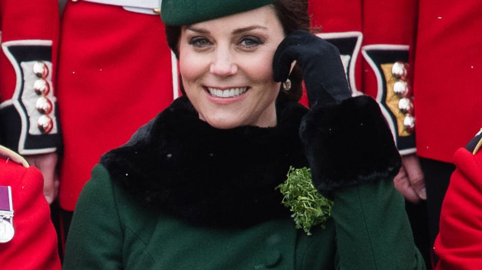 Kate Middleton fait sensation en total look vert pour la Saint-Patrick (Photos)