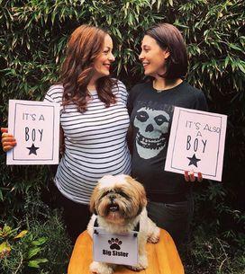 Homoparentalité : en couple, elles ont un bébé en même temps (Photos)