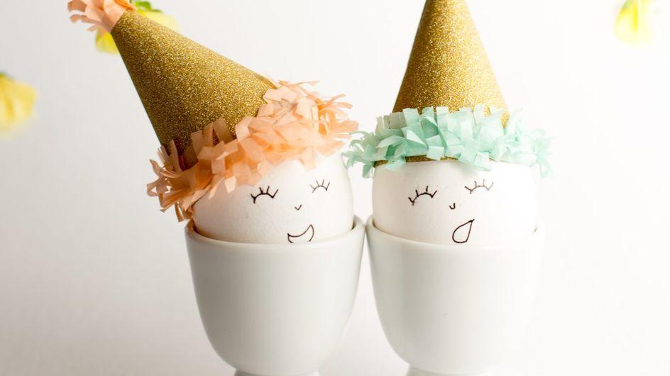 Brico-déco : 10 idées canon pour customiser ses oeufs de Pâques