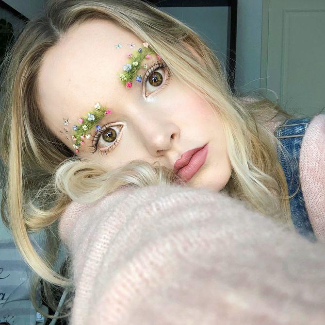 Fêtons l'arrivée du printemps avec des sourcils fleuris ! (Photos)
