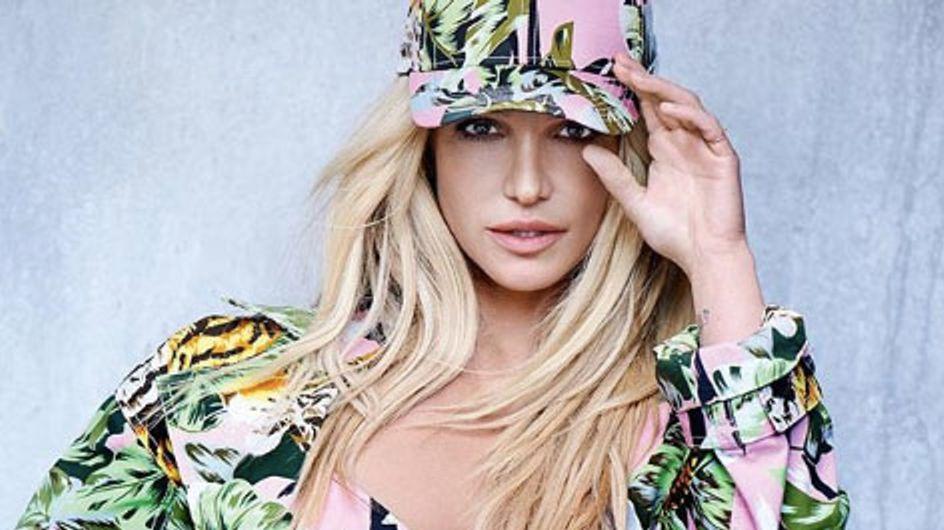 Britney Spears devient égérie Kenzo et elle est méconnaissable ! (Photos)