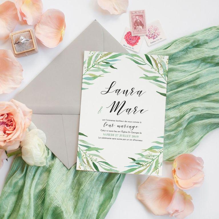 Invitation De Mariage Et Faire Part De Mariage Mode Demploi
