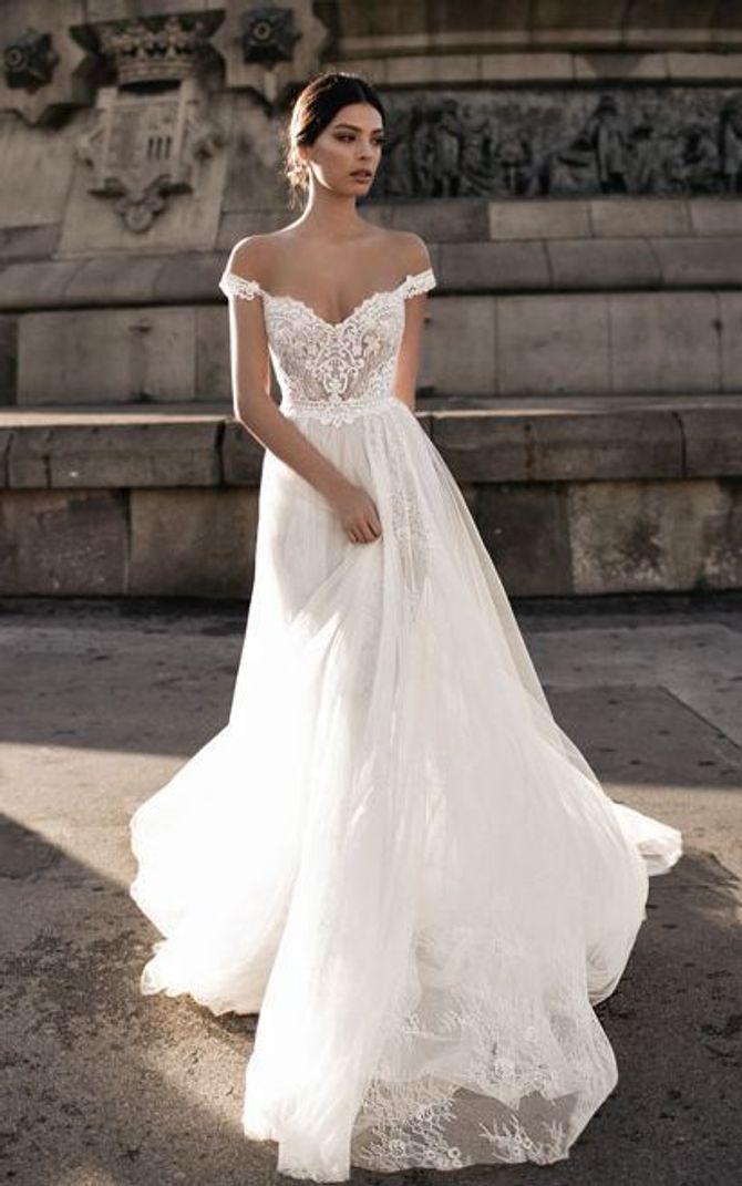 d97031451981 7 tipi di abiti da sposa più pinnati