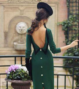El look para una madrina perfecta: vestidos, tocados y otros accesorios