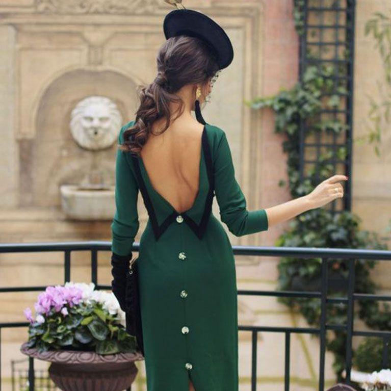 46608fa8 El look para una madrina perfecta: vestidos, tocados y otros accesorios