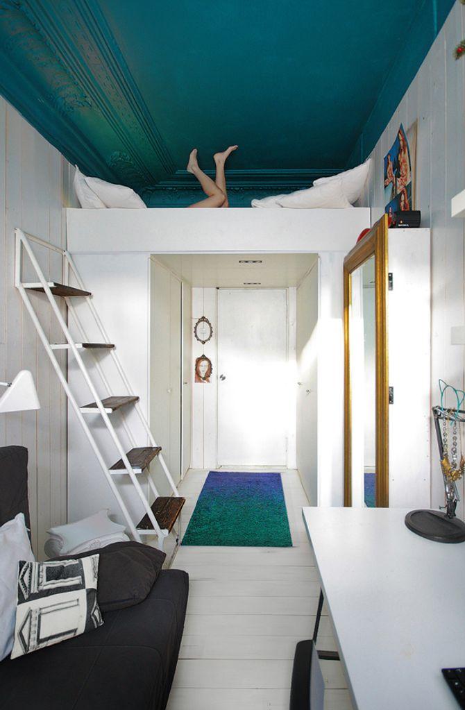 Les idées de décoration pour un plafond tendance : le plafond peint