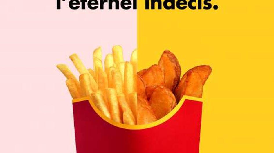 C'est officiel : McDonald's lance un nouvel accompagnement mi frites, mi potatoes !
