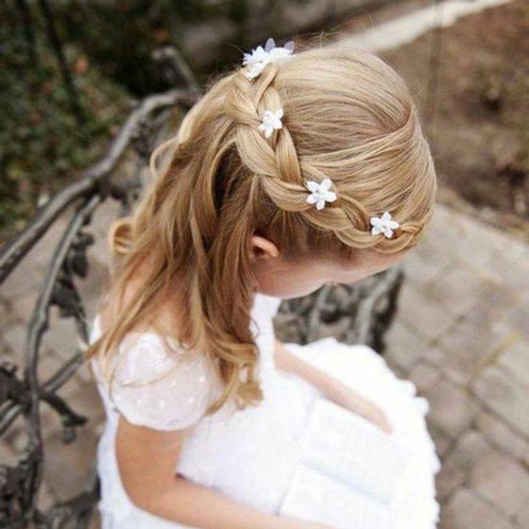 Idees De Tresses Pour Les Petites Filles