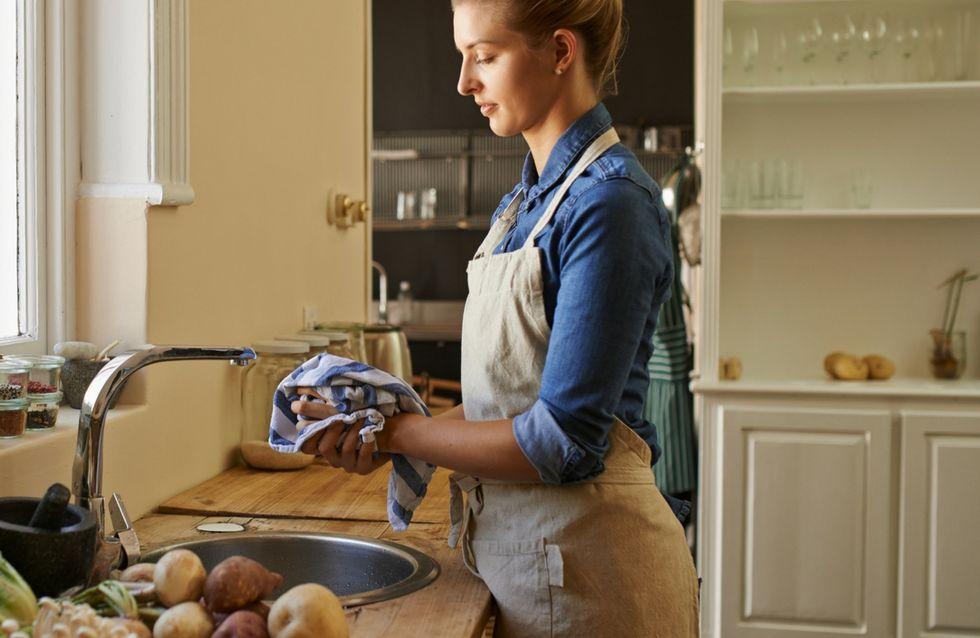 Come lavare bene gli strofinacci da cucina e togliere tutto lo sporco!