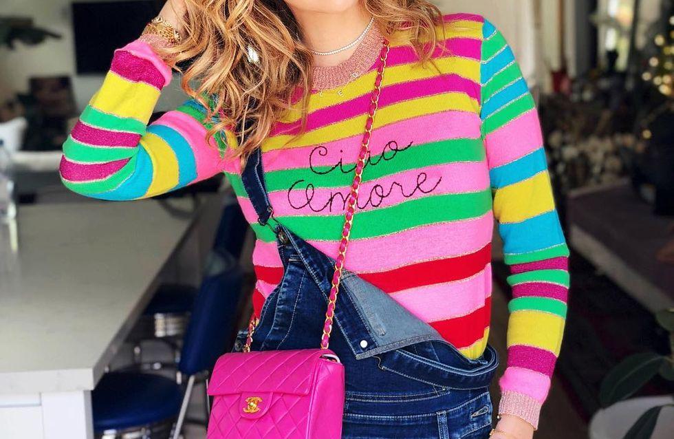 Rayas multicolor, la tendencia que alegrará tus looks esta primavera