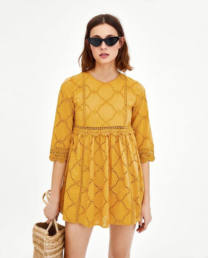 nouvelle version meilleurs tissus choisir l'original Les petites robes d'été à découvrir chez Zara
