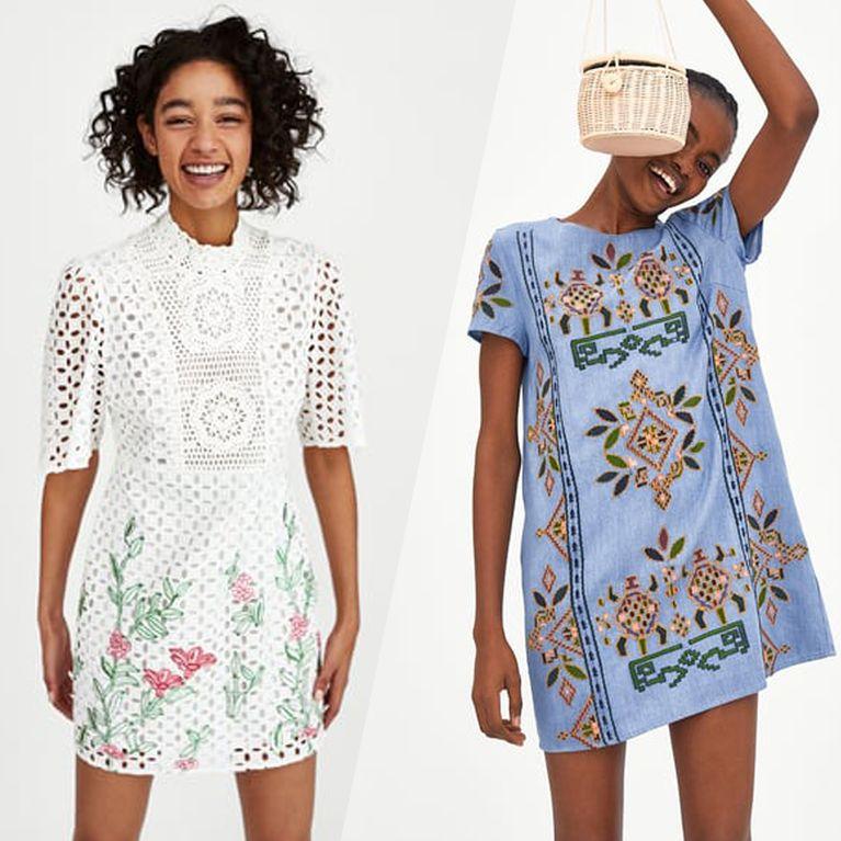 2c96c2af3b10c Ces petites robes d'été qui nous donnent envie d'aller faire un tour chez  Zara