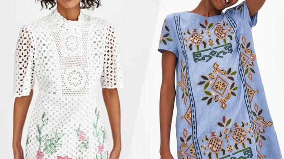 Ces petites robes d'été qui nous donnent envie d'aller faire un tour chez Zara