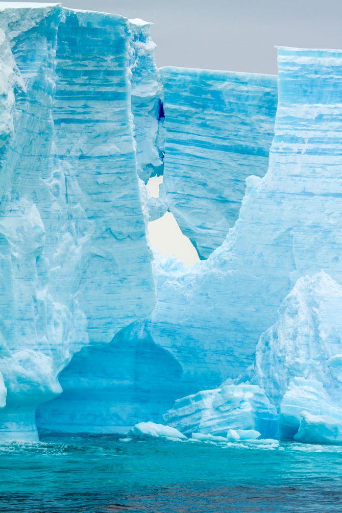 L'antarctique, le plus grand désert du monde
