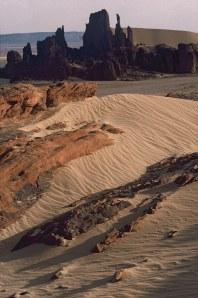 Le désert de Hoggar en Algérie