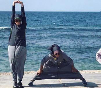 L'abaya sportive est adoptée par les Saoudiennes mais continue de scandaliser (p