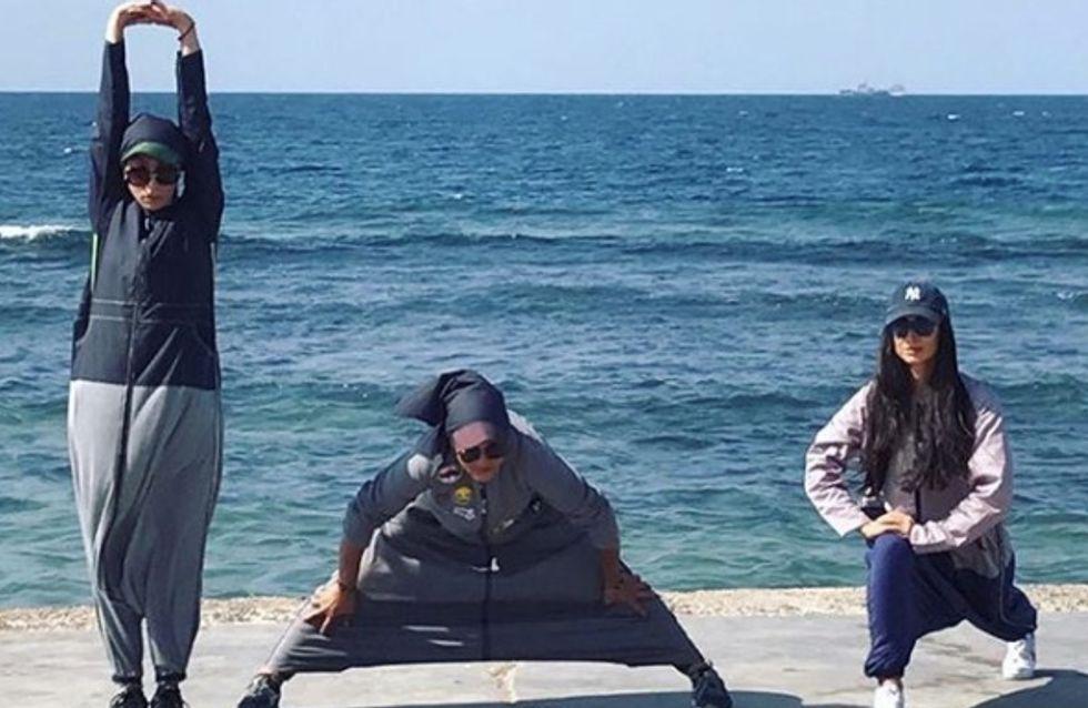 L'abaya sportive est adoptée par les Saoudiennes mais continue de scandaliser (photos)