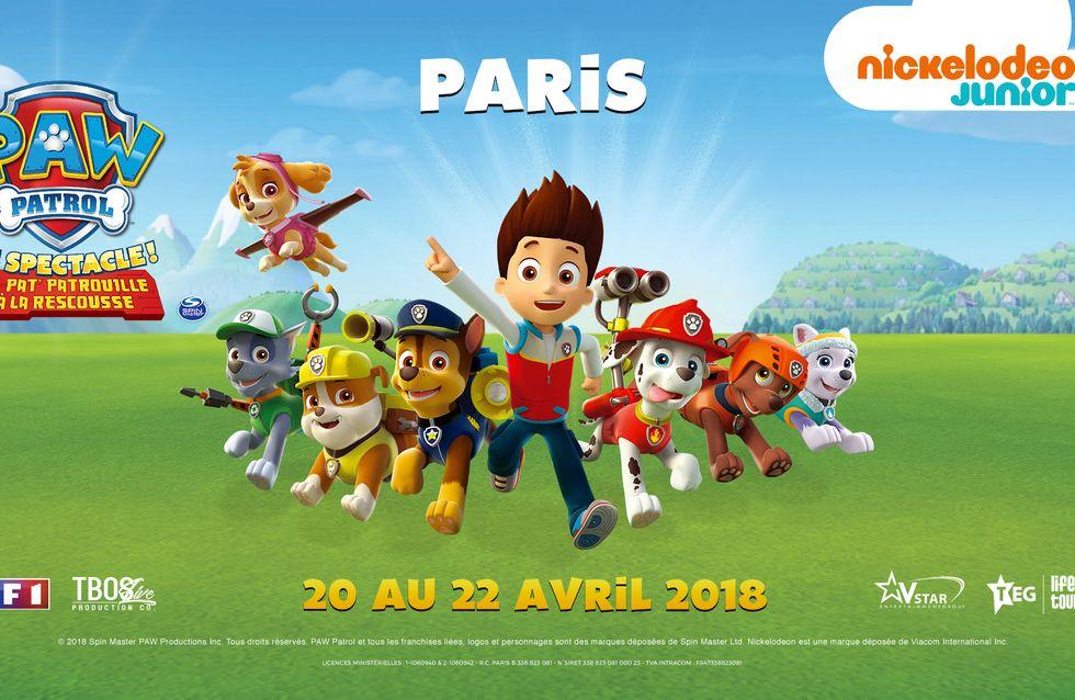 Pat Patrouille, la célèbre série animée des enfants, est adaptée en spectacle !