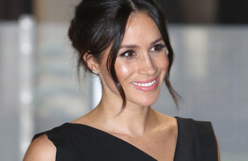 Surprenant ! Meghan Markle opte pour la même robe que celle de Kim Kardashian (Photos)