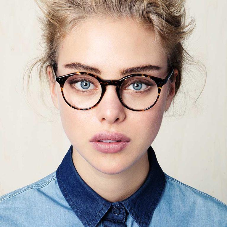 Frisuren ovales gesicht brille