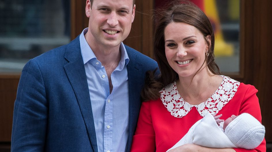 On connaît enfin le prénom du troisième enfant de Kate Middleton et du prince William !