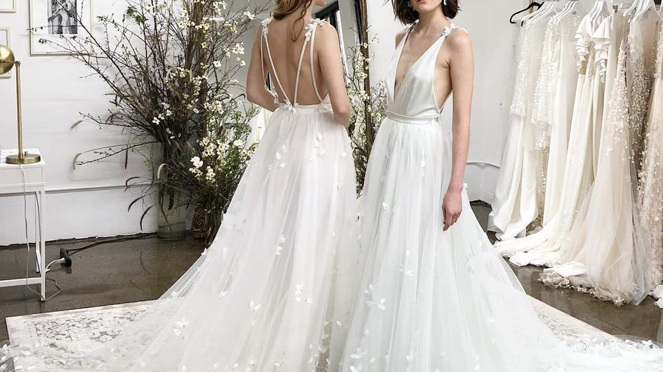 Tendencias en vestidos de novia vistas en la New York Bridal Week