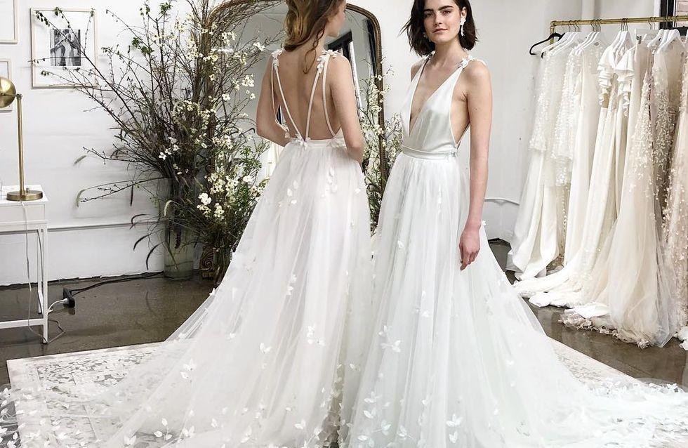 Tendencias en vestidos de novia vistas en la New York Bridal Week