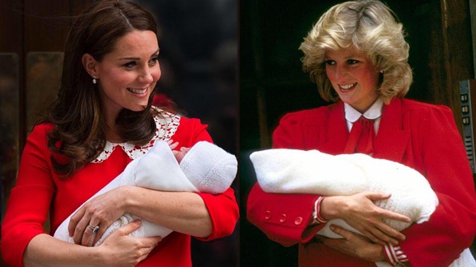 Kate Middleton, son clin d'oeil mode à Diana en sortant de la maternité