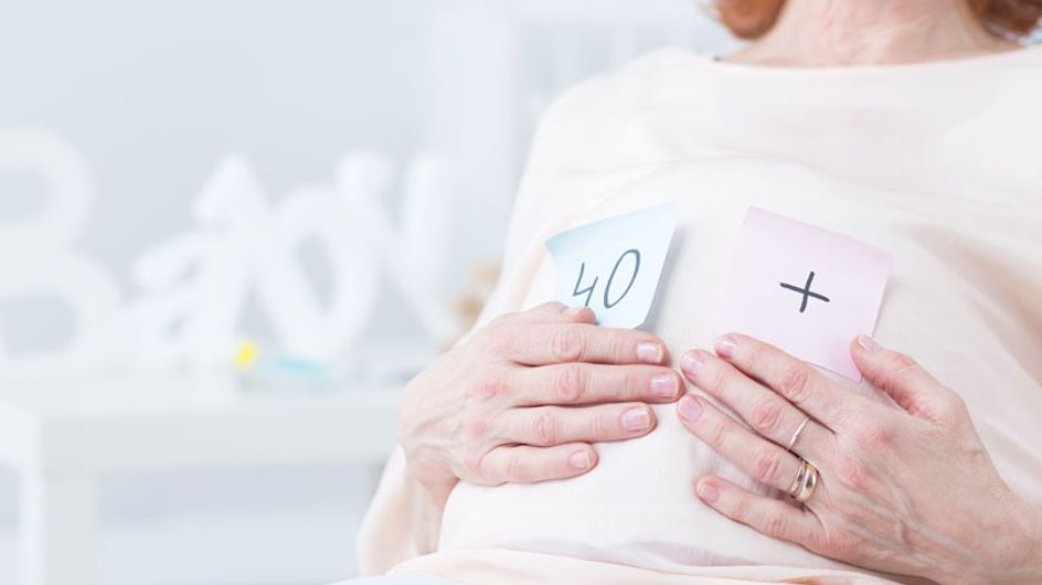 Advice for getting pregnant after 40