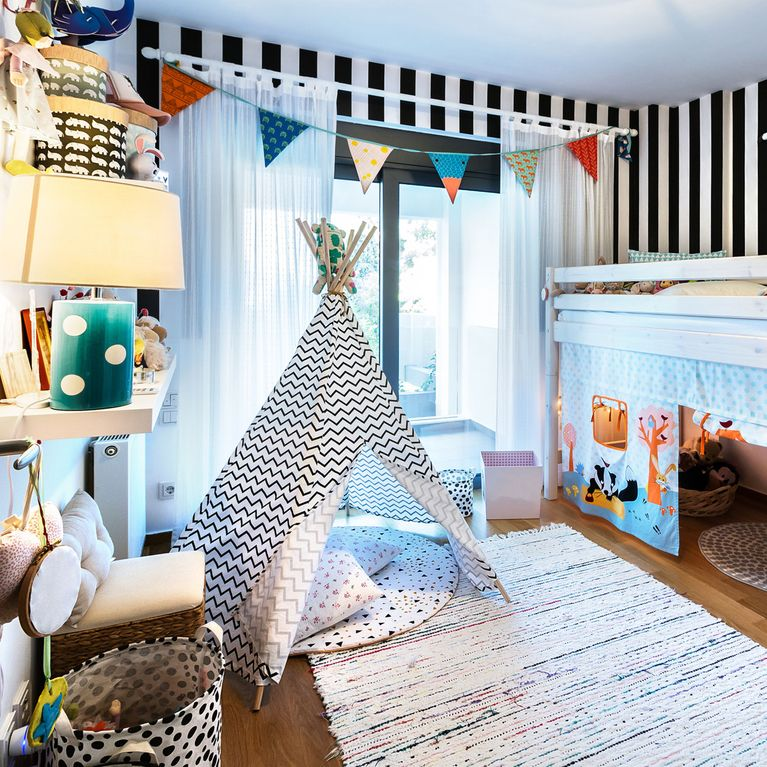 Die schönsten Kinderzimmer-Ideen: Von DIY-Möbeln bis Deko