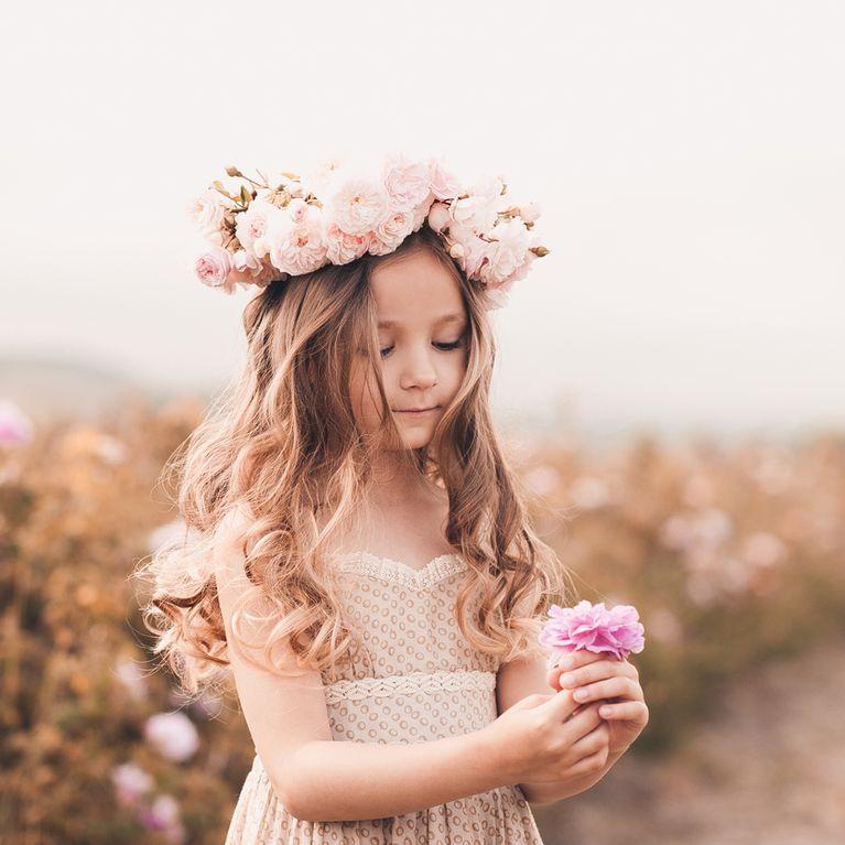 Coupe de cheveux de bГ©bГ© court pour photo de petites filles