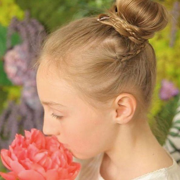 Ceremonie Des Idees De Coiffures Pour Petite Fille