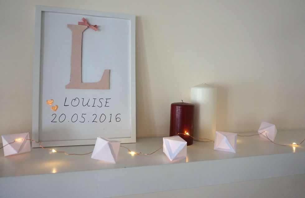 DIY : une jolie guirlande lumineuse en origami