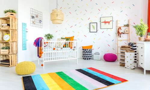 Ideen für Wand im Kinderzimmer